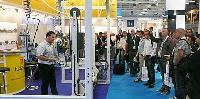 CWIEME Berlin Display featured Gantry Suspended and Narrow Coil Taping Machines